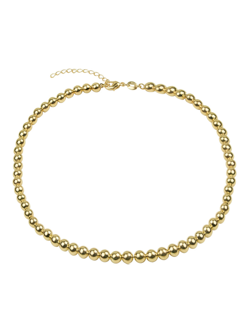 THE HOLLOW BALL CHAIN CHOKER NECKLACE