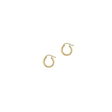 THE 14KT GOLD SMALL HOOPS