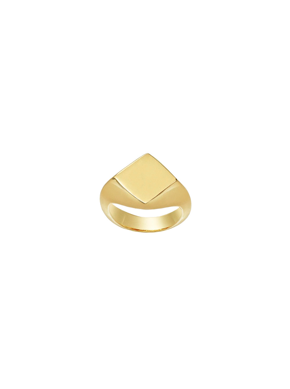 THE RHOMBUS SIGNET RING