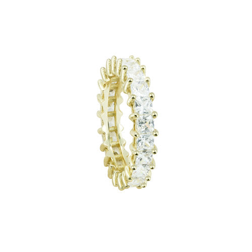 THE PRINCESS CUT ETERNITY BAND