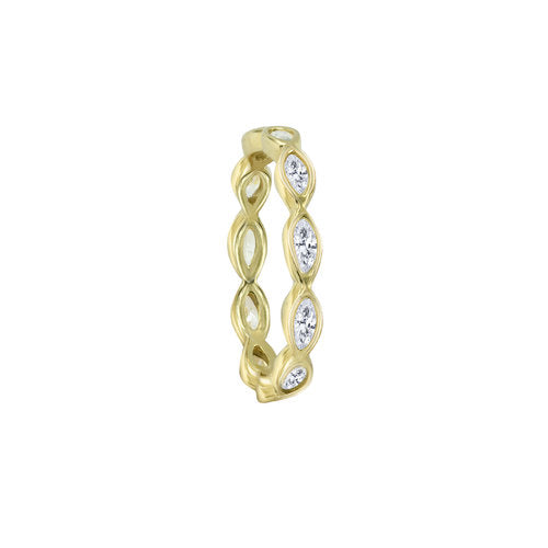 THE PEAR SHAPE ETERNITY BAND