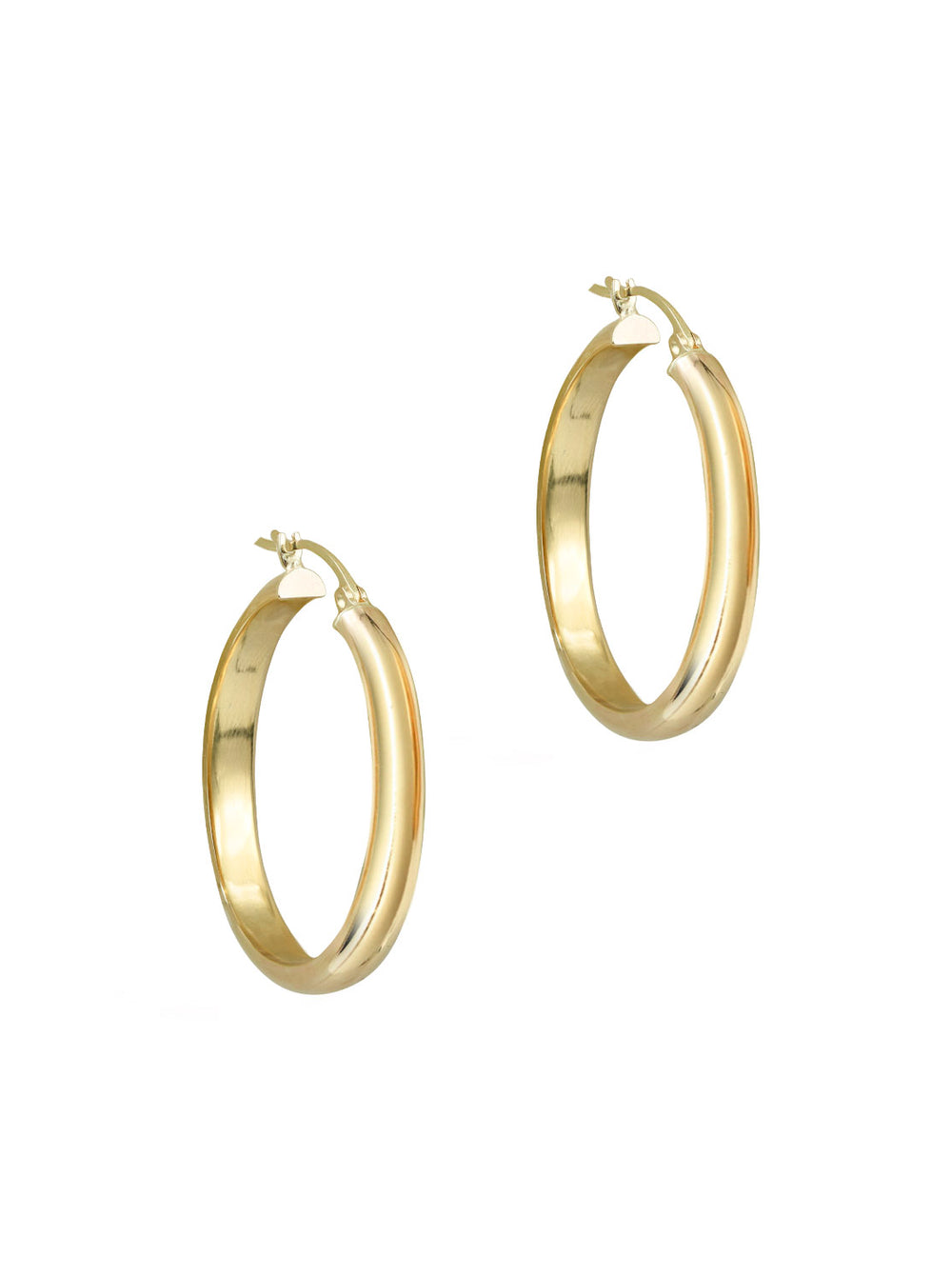 THE 10KT LOLA HOOPS (MEDIUM)