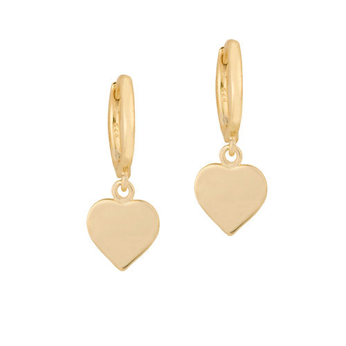 THE HANGING HEART EARRINGS
