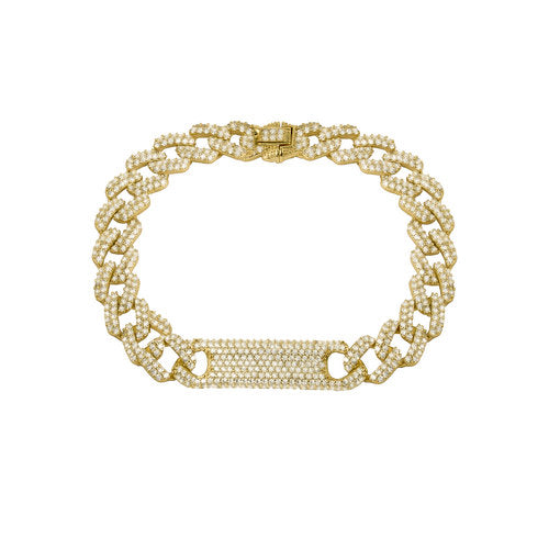 THE CUBAN LINK ID BRACELET