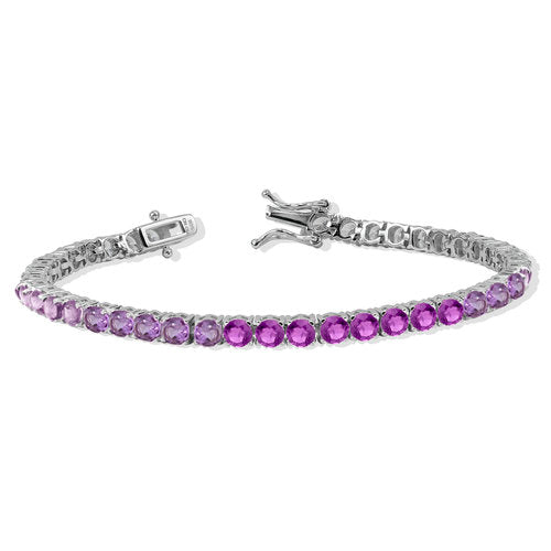 THE PURPLE GRADIENT TENNIS BRACELET