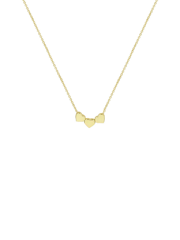 THE MULTI HEART PENDANT NECKLACE