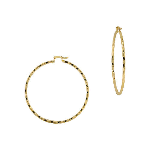 THE LADO RIDGED THIN HOOPS