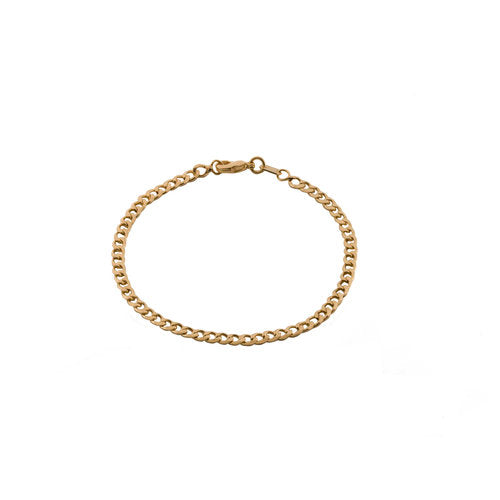 THE MINI CURB LINK BRACELET