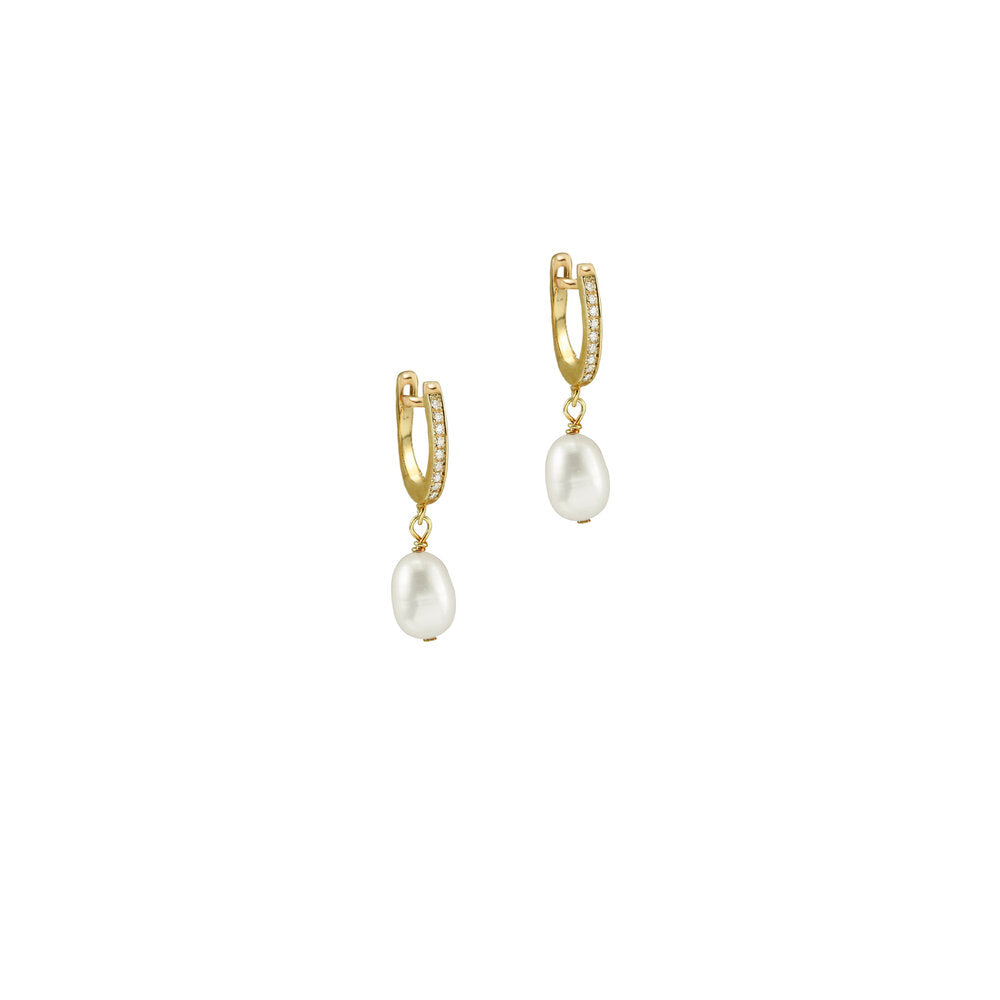 THE CAPRI PEARL DROP EARRINGS