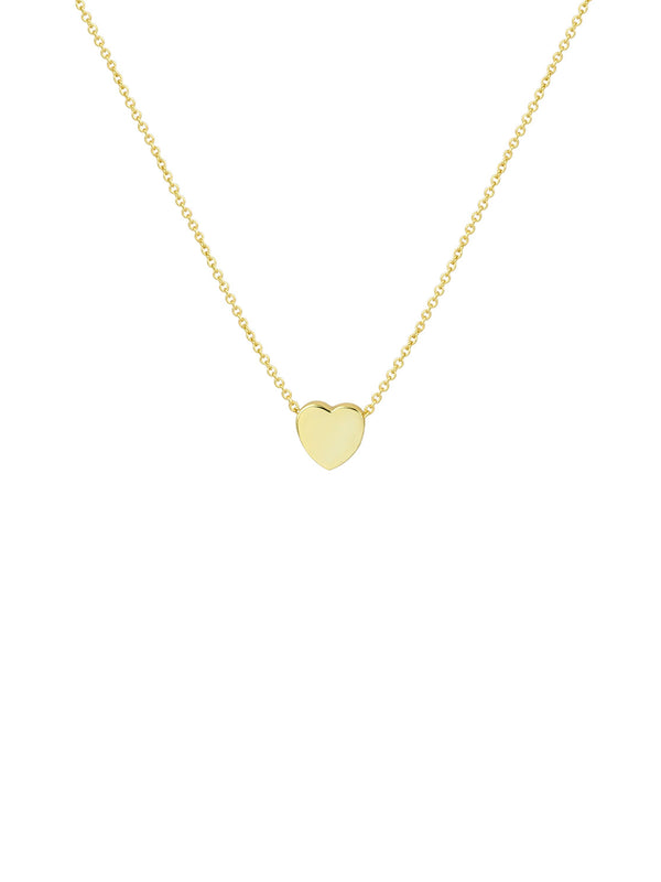 THE SINGLE HEART PENDANT NECKLACE