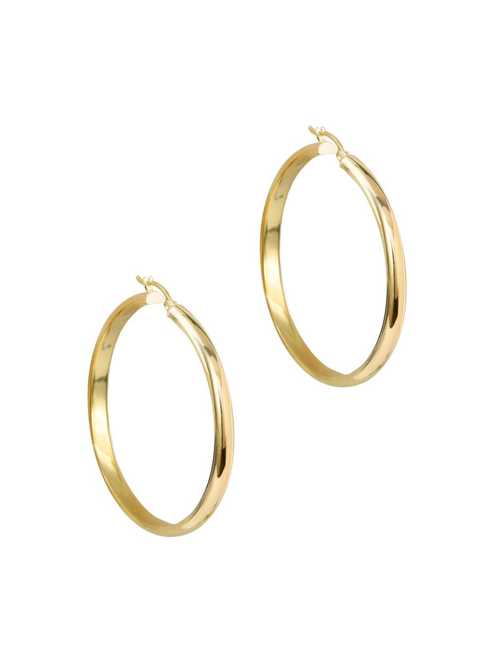 THE 10KT LOLA HOOPS (LARGE)