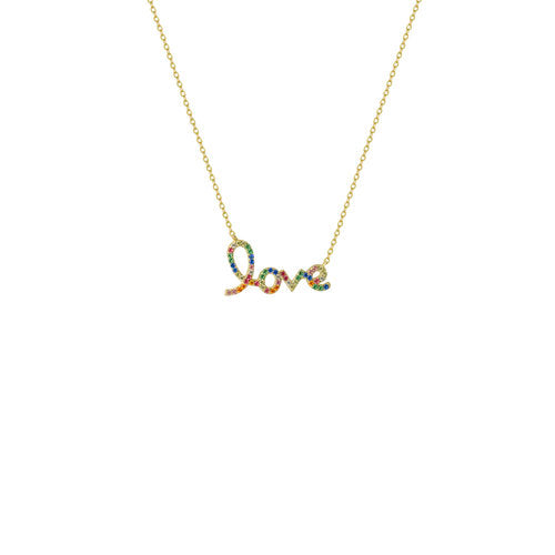 THE RAINBOW LOVE NECKLACE