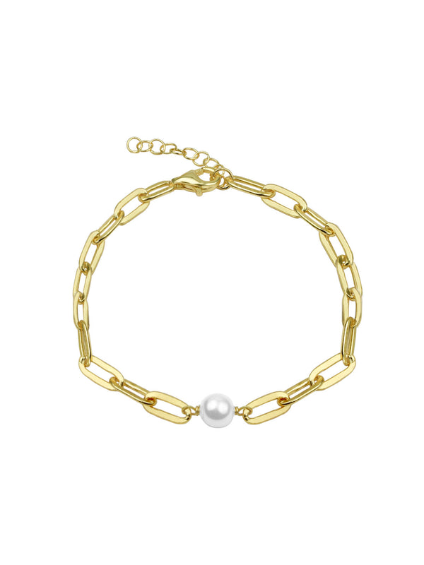THE PEARL REDA LINK ANKLET