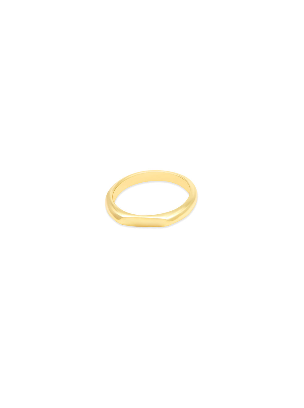 THE FLAT BAR SIGNET RING
