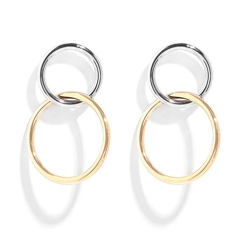 THE FLOARIS HOOP EARRING