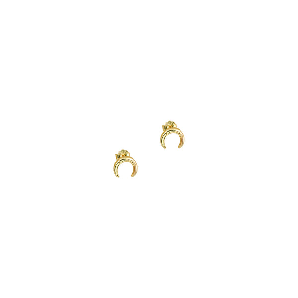 THE HORN STUD EARRINGS