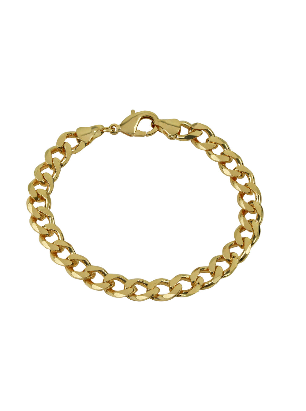 THE MID SIZE CURB BRACELET