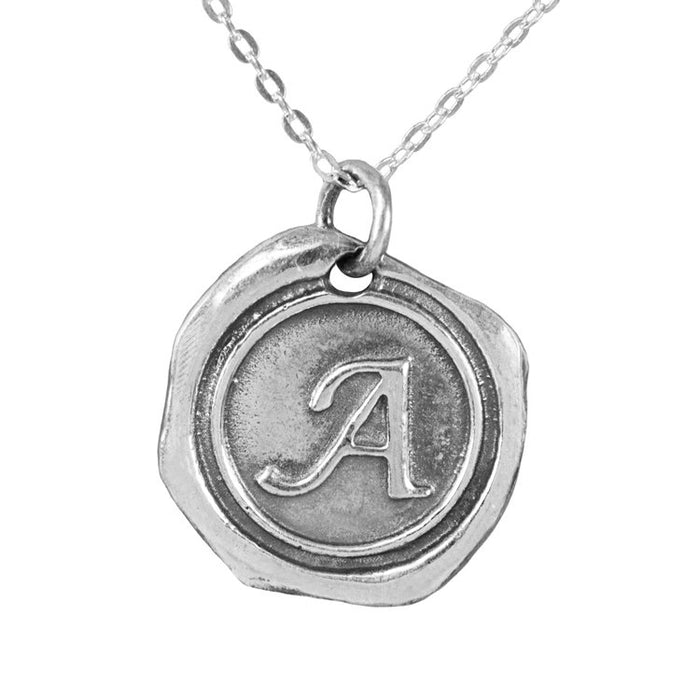 THE SEALED INITIAL NECKLACE