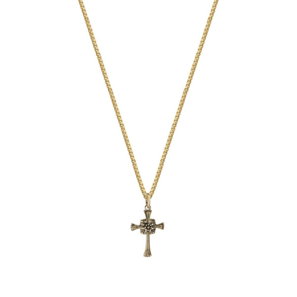 THE LINDEN CROSS NECKLACE