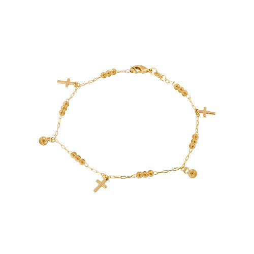 THE TORINO CROSS ANKLET
