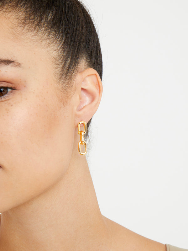 THE CHAIN LINK EARRINGS