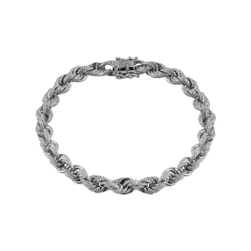 THE ICED OUT ROPE BRACELET