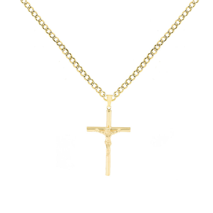 THE CRUCIFIX NECKLACE (MENS)