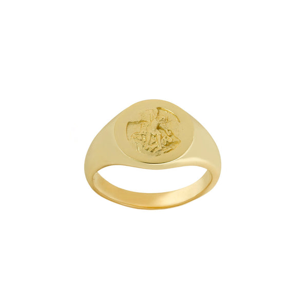 THE SAINT MICHAEL SIGNET RING