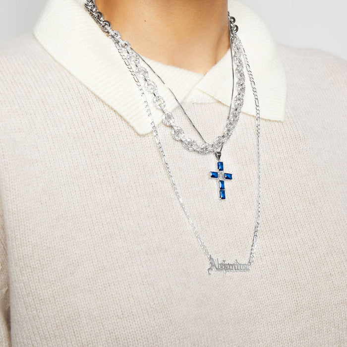 THE HALF ICED OUT LINK CHAIN (CHAPTER II BY GREG YÜNA X THE M JEWELERS)