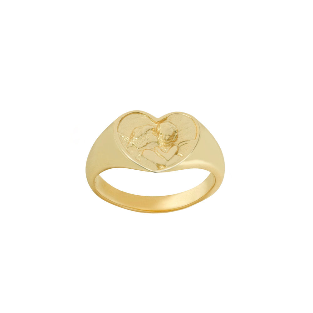 THE ANGEL SIGNET RING