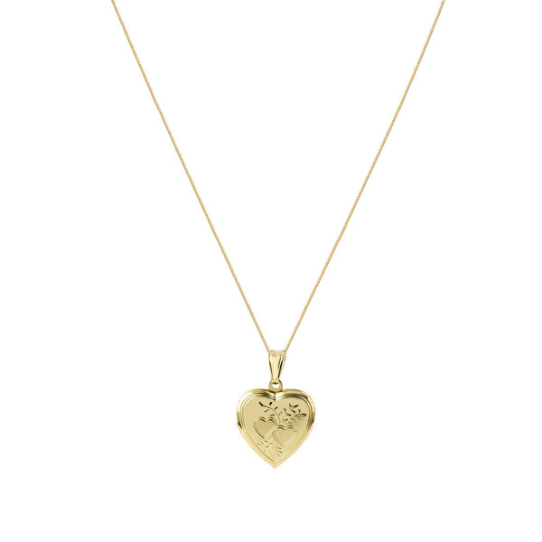 THE BELLA HEART LOCKET PENDANT NECKLACE