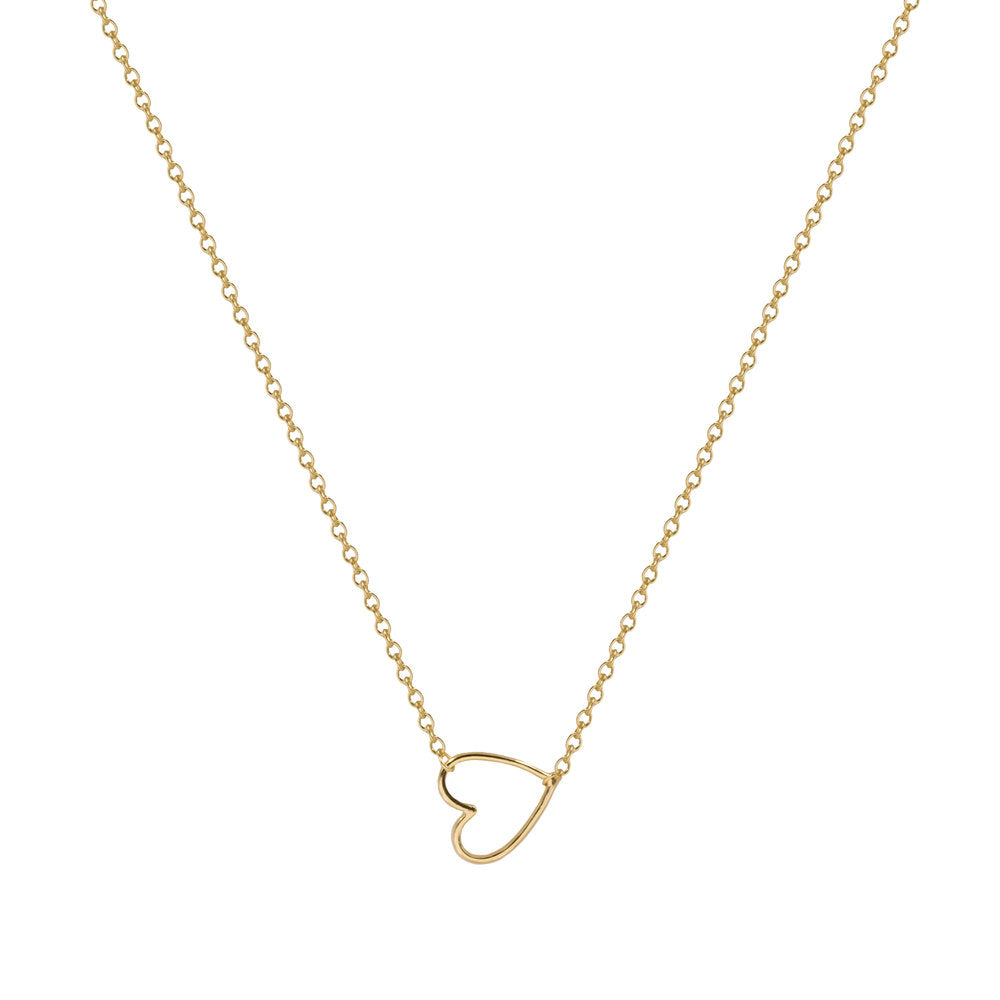 THE CUT-OUT HEART NECKLACE