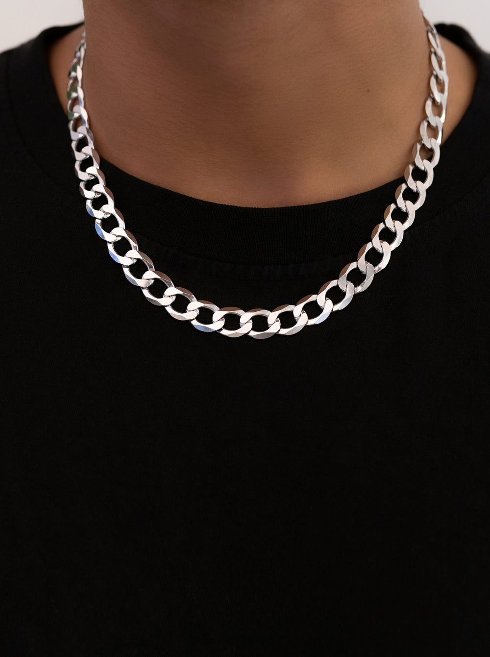 THE FLAT CURB CHAIN NECKLACE