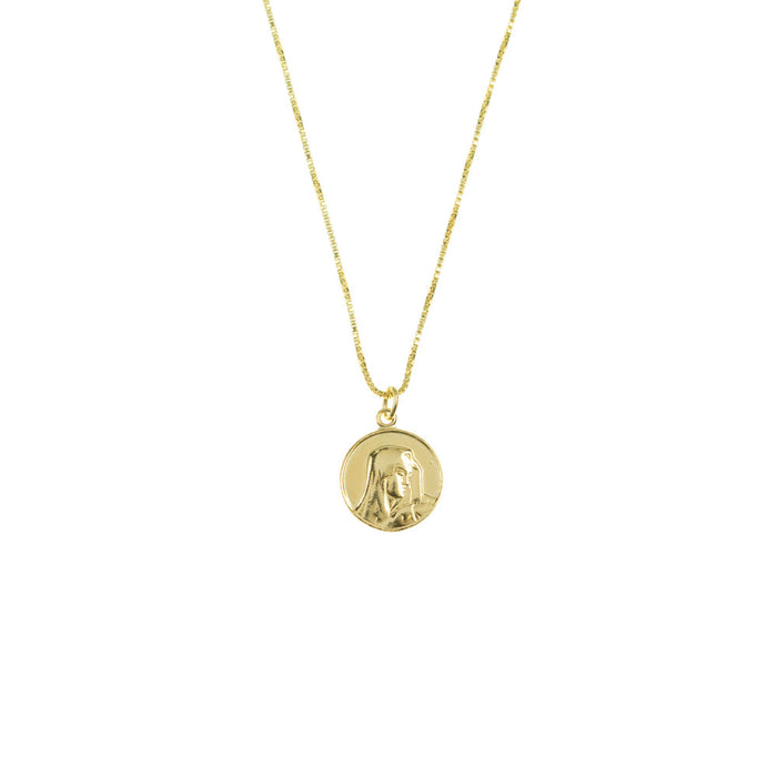 THE MARY COIN NECKLACE