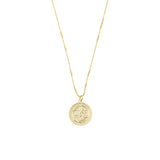 THE SAINT MICHAEL SINGLE MEDAL NECKLACE