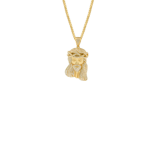 THE JESUS PIECE PENDANT NECKLACE