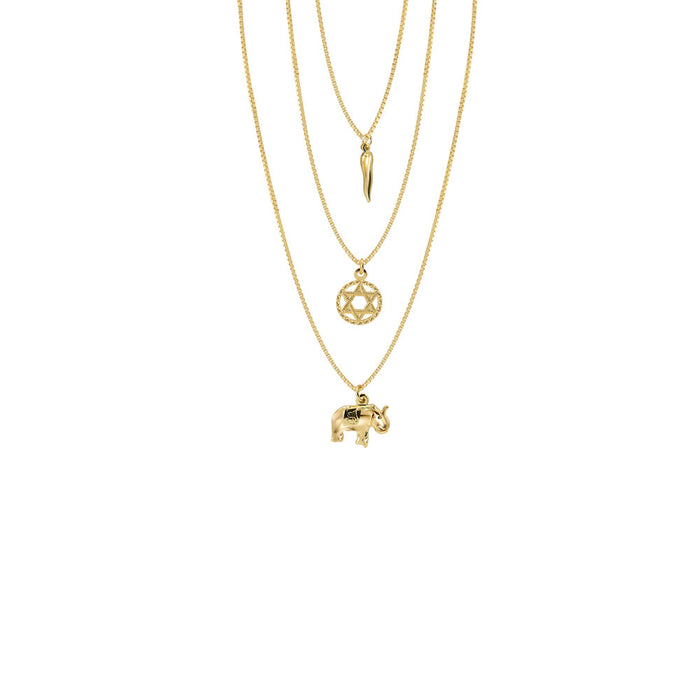 THE FULL STAR OF DAVID LAYER NECKLACE