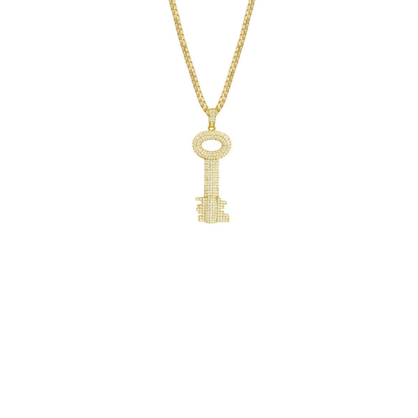 THE CITY KEY PENDANT NECKLACE