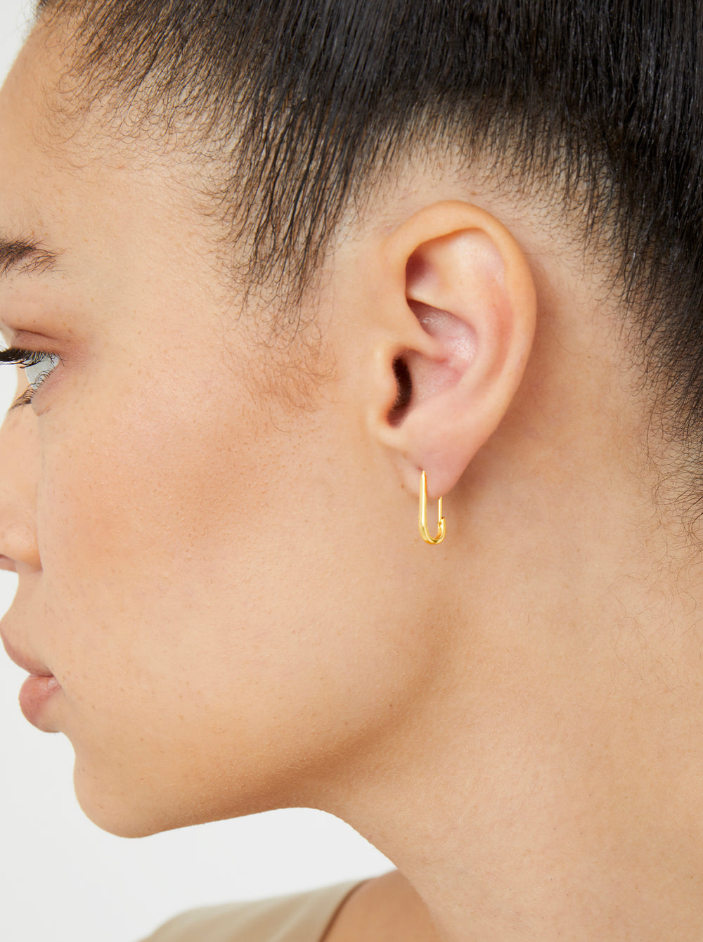 THE MINI PAPER CLIP EARRINGS