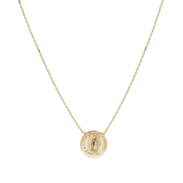 THE GUADALUPE SPLIT CHAIN NECKLACE