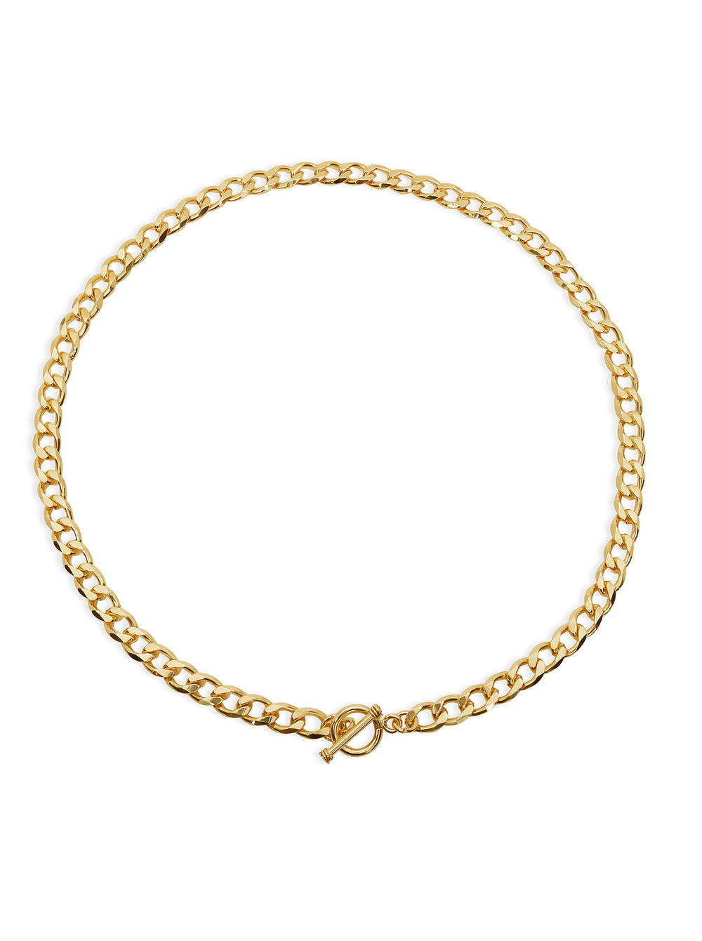 THE CURB LINK TOGGLE NECKLACE