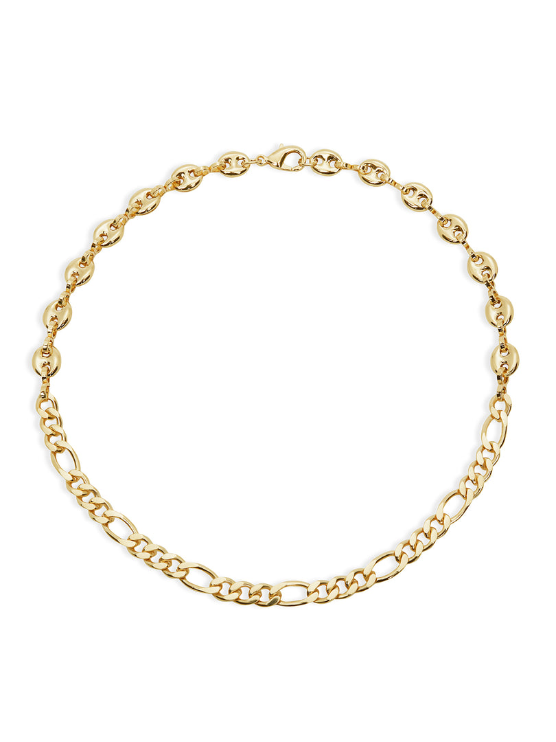 THE IRIS FIGARO CHAIN NECKLACE