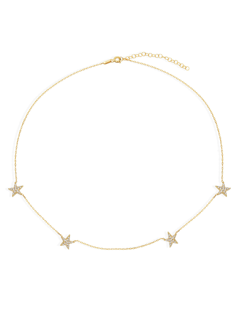 THE PAVE STAR NECKLACE