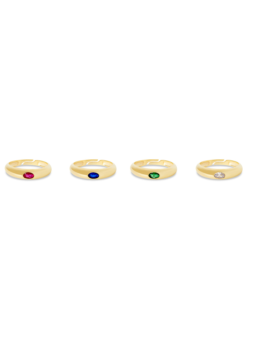 THE COLORED ARC RING
