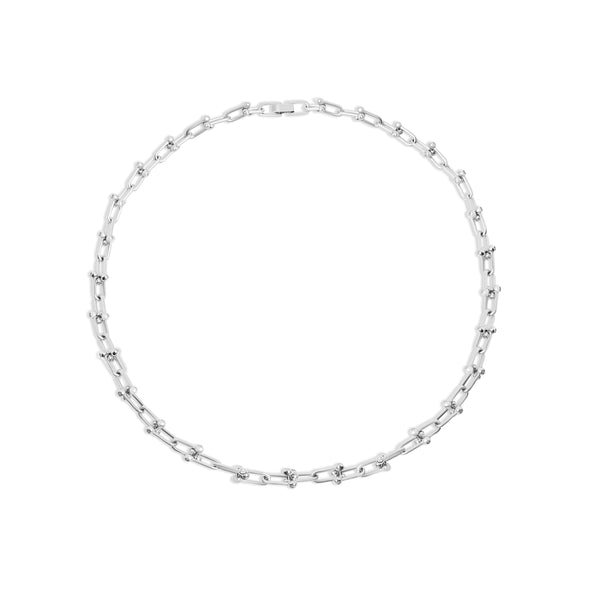 THE HOWARD SILVER CHAIN NECKLACE