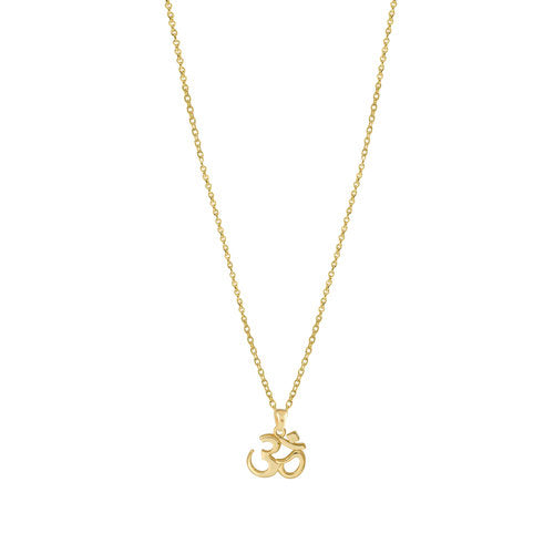 THE OM PENDANT NECKLACE
