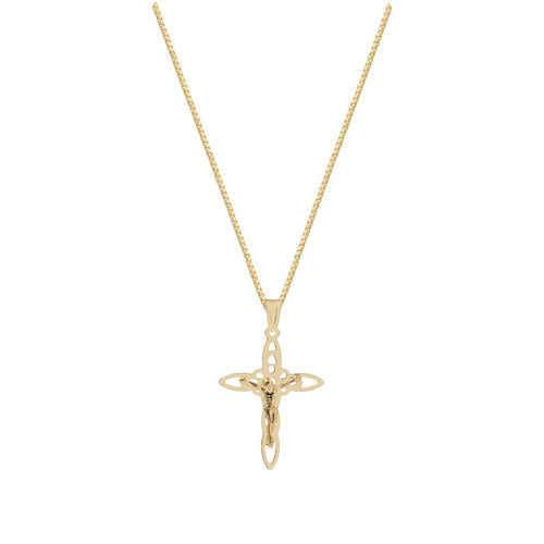 THE ORNATE CROSS PENDANT NECKLACE