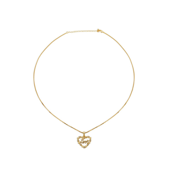 THE LOVE HEART NECKLACE