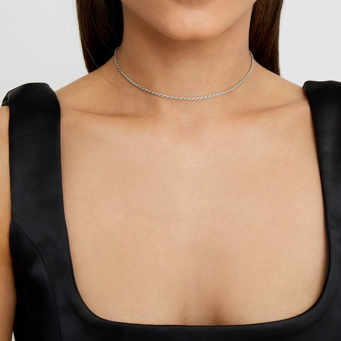 THE ROPE CHAIN CHOKER