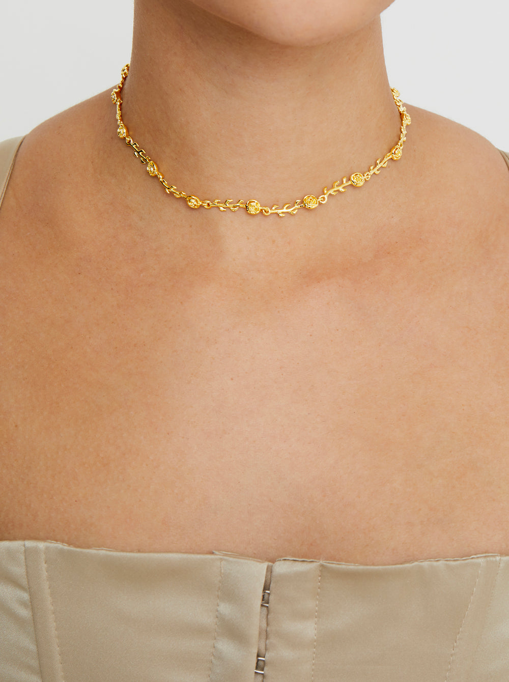 THE ROSE CHOKER (DANIELLE GUIZIO X THE M JEWELERS)